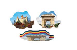 Magneti harta tricolor