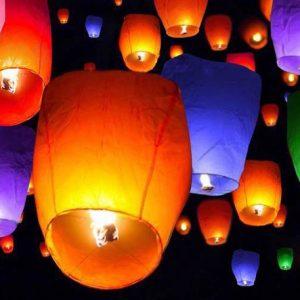 Lampioane colorate
