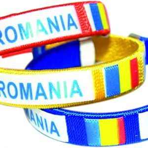 Set 3 bratari tricolore – Romania