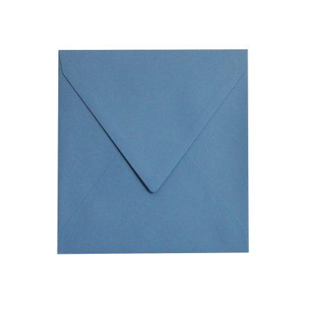 Set 10 plicuri 14.5x14.5 cm. - albastru